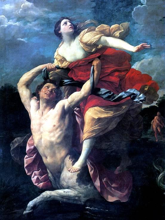 РЕНИ ГВИДО Деянира, похищаемая кентавром Нессом, 1620-1621