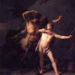 <b>РЕНЬО ЖАН БАТИСТ Воспитание Ахилла кентавром Хироном, 1782</b>