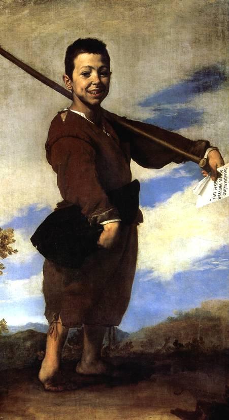 РИБЕРА ХУСЕПЕ ДЕ Нищий, или Хромоножка, 1642