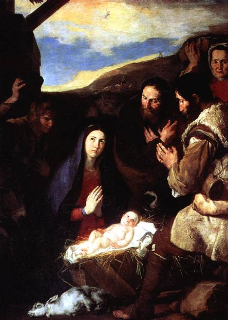 РИБЕРА ХУСЕПЕ ДЕ Поклонение пастухов, 1650