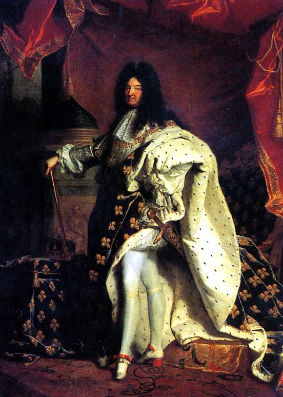 РИГО ГИАЦИНТ Людовик 14, король Франции, 1701