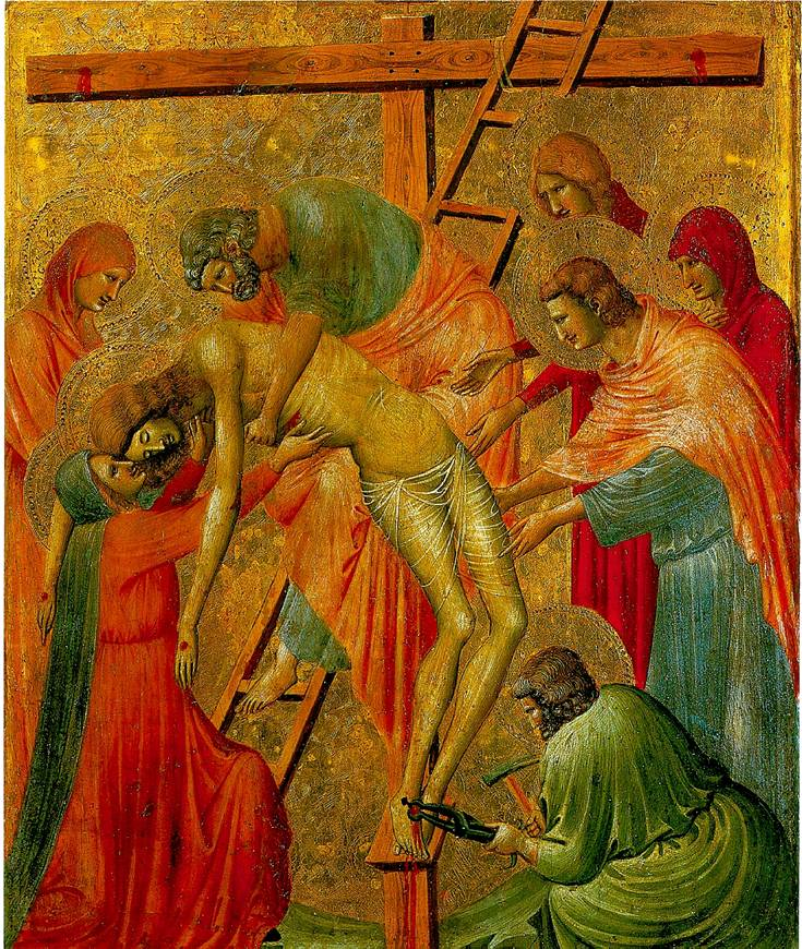 РИМИНИ ПЬЕТРО ДА Снятие с креста, ок. 1330/40