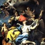 <b>РИЧЧИ СЕБАСТЬЯНО Аллегория Франции в образе Минервы или Мудрости, попирающей Нев...</b>