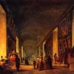 <b>РОБЕР ЮБЕР Большая галерея Лувра между 1794-1796 гг.</b>