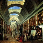 <b>РОБЕР ЮБЕР Проект оформления Большой галереи Лувра, 1796</b>