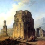 <b>РОБЕР ЮБЕР Триумфальная арка и амфитеатр в Оранже</b>