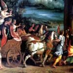 <b>РОМАНО ДЖУЛИО Триумф Тита и Веспасиана, ок. 1537</b>