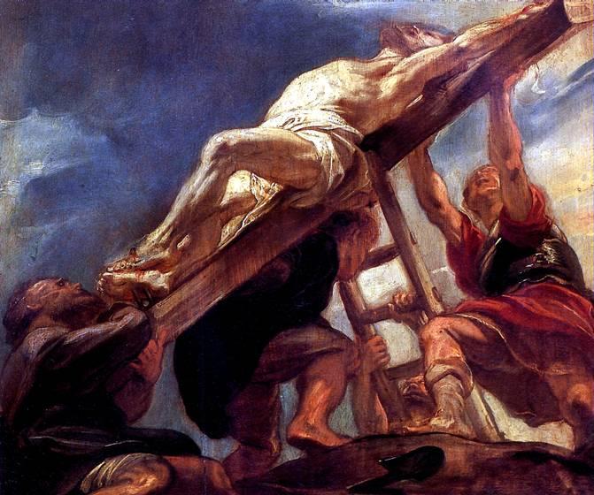 РУБЕНС ПИТЕР ПАУЭЛ Водружение креста