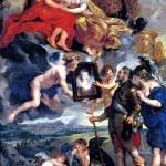 <b>РУБЕНС ПИТЕР ПАУЭЛ Генрих IV получает портрет Марии Медичи</b>