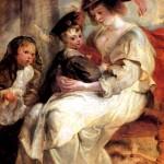 <b>РУБЕНС ПИТЕР ПАУЭЛ Елена Фоурмент с детьми Клер-Жанной и Франсуа, ок. 1636-1637</b>